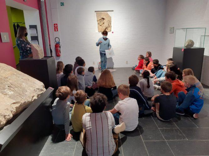 Visite au musée archéologique (P4)